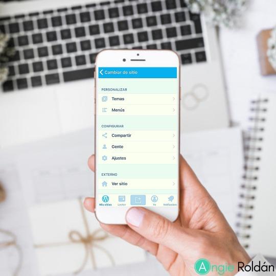 Cómo usar la App de WordPress en tu teléfono